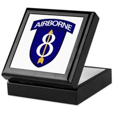 8th Infantry Airborne Keepsake Box