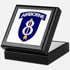 8th Infantry Airborne Keepsake Box