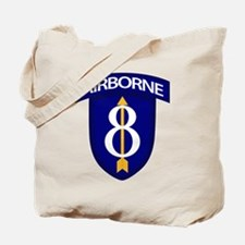 8th Infantry Airborne Tote Bag