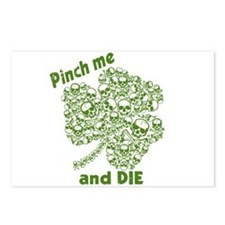 Pinch Me and Die Funny Irish Postcards (Package of