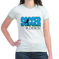 Soccer Rocks Jr. Ringer T-Shirt