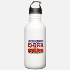 SUPPORT OPEN SHOPS Water Bottle