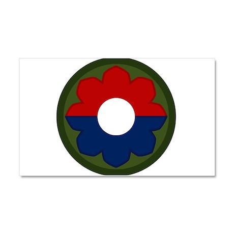 9th Infantry Car Magnet 20 x 12