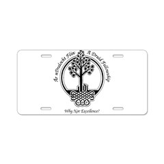 ADF Excellence Logo Items Aluminum License Plate