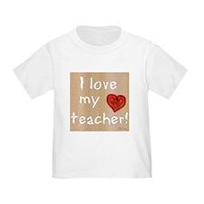 I Love My Teacher T