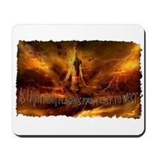 second coming of jesus Mousepad