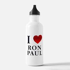 I Love Ron Paul Water Bottle
