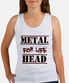 Metal Head For Life Women's Tank Top