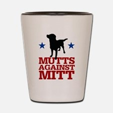 Mutts Against Mitt Shot Glass