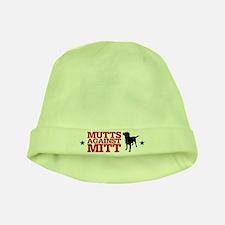 Mutts Against Mitt baby hat