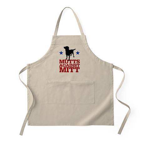 Mutts Against Mitt Apron