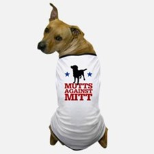 Mutts Against Mitt Dog T-Shirt