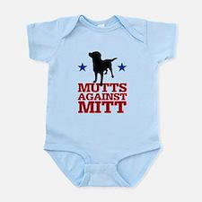 Mutts Against Mitt Infant Bodysuit