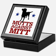 Mutts Against Mitt Keepsake Box