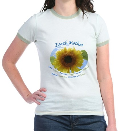 Earth Mother Jr. Ringer T-Shirt