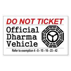 Dharma Vehicle Decal