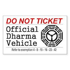Dharma Vehicle Stickers