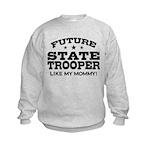 Future State Trooper Kids Sweatshirt