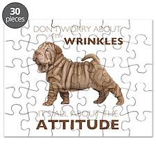 Shar Pei Attitude Puzzle