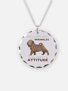 Shar Pei Attitude Necklace