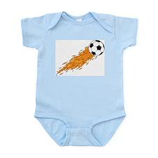 Soccer Fire Infant Creeper