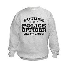 Future Police Officer Sweatshirt
