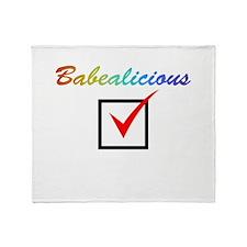Babealicious Throw Blanket