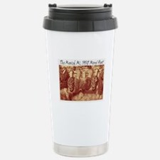 mesick morel humor Stainless Steel Travel Mug