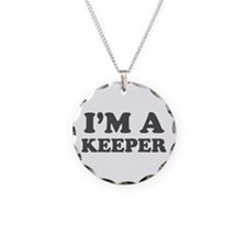 Valentine I'm a Keeper Necklace