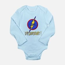 ADHD IS MY SUPERPOWER Long Sleeve Infant Bodysuit