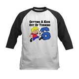 6th birthday Baseball Jersey