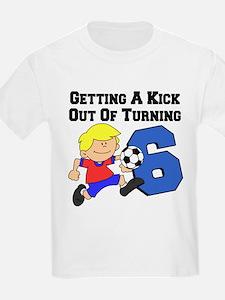 Soccer 6th Birthday T-Shirt