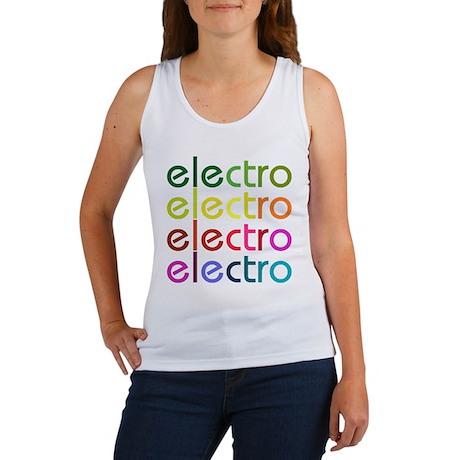 Electro Women's Tank Top