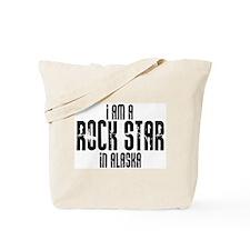 Rock Star In Alaska Tote Bag