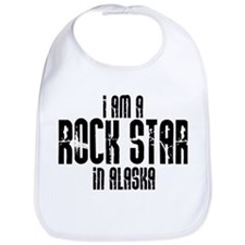 Rock Star In Alaska Bib