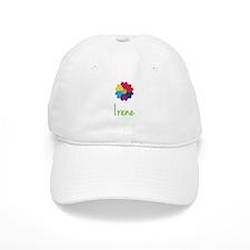 Irene Valentine Flower Baseball Cap