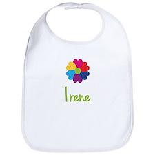 Irene Valentine Flower Bib