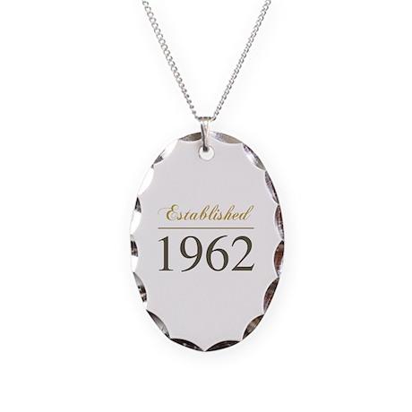 Established 1962 Necklace Oval Charm