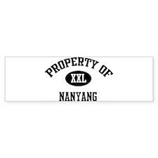 Property of Nanyang Bumper Bumper Sticker