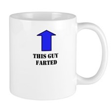 This Guy Farted Small Mug