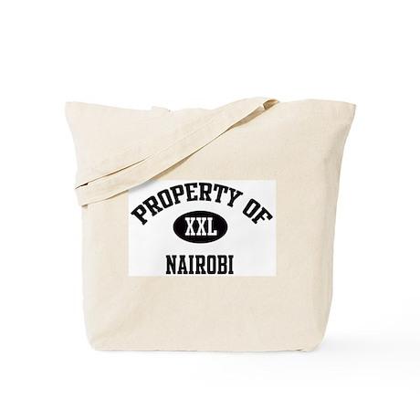 Property of Nairobi Tote Bag