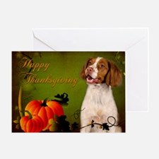 Brittany Thanksgiving Card