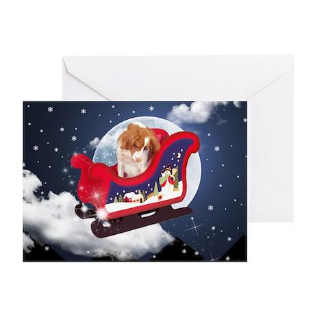 Magic Ride Brittany Xmas Cards (Pk of 10)