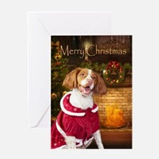 Holiday Brittany Xmas Card
