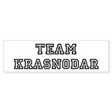 Team Krasnodar Bumper Bumper Sticker