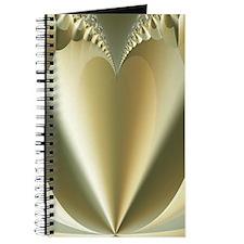 """""""Heart of Gold"""" Fractal Art Journal"""