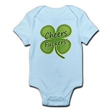 Cheers Fuckers! Funny Irish Infant Bodysuit