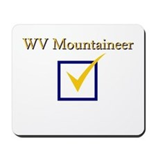 WV Mountaineer Mousepad
