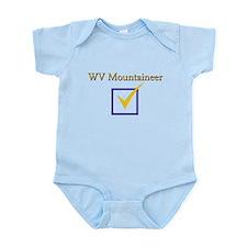 WV Mountaineer Infant Bodysuit