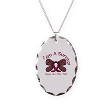 Sickle Cell Anemia Survivor Necklace